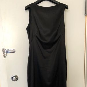 THEORY silk dress with back zip